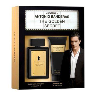 fb7ceb4d48077 Kit Perfume The Golden Secret 100ml + Balm After Shave 75ml – R  149